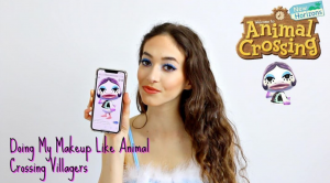 Animal Crossing Villagers Makeup Tutorial