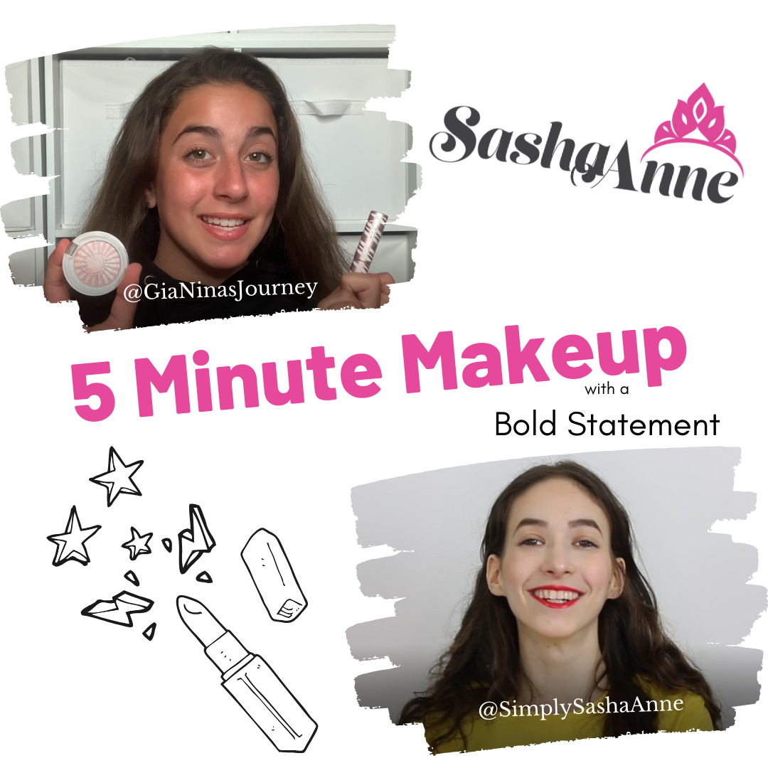5-Minute Summer Statement Makeup Challenge with GiaNina!