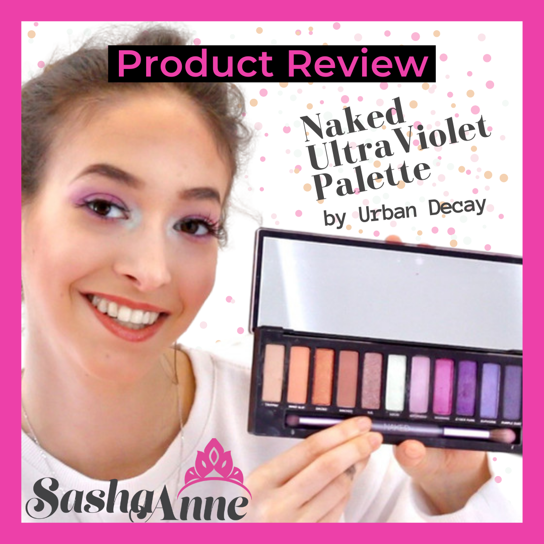Urban Decay Naked UltraViolet Palette Review + Tutorial