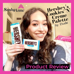 Etude Hershey's Cookies 'N' Creme Review + Tutorial