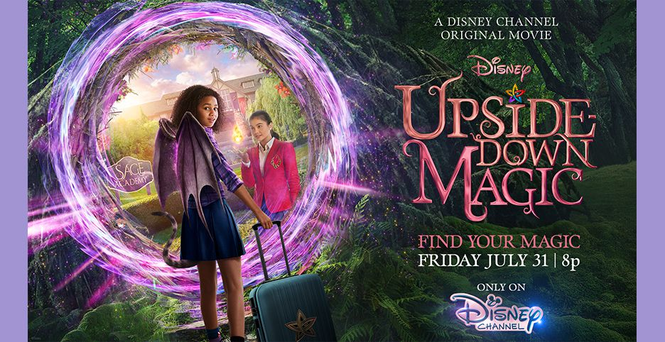 "Disney Channel's New Movie ""Upside-Down Magic"" Review + Unboxxing!"